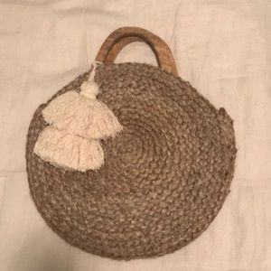 ZARA Raffia bag. New without tags. I own two!